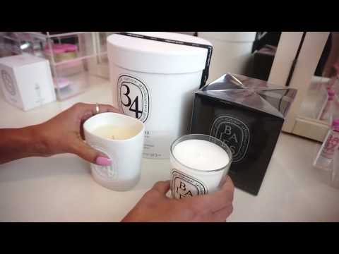 Diptyque Unboxing - Indoor and Outdoor large candles