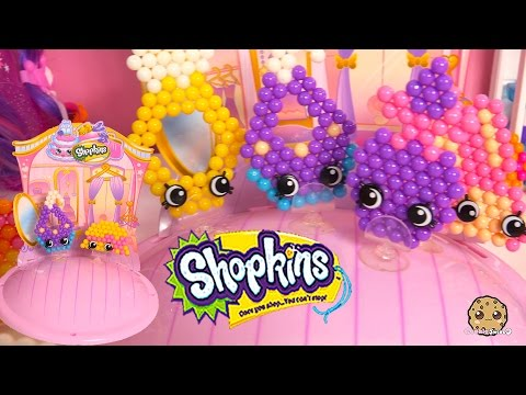 Create Shopkins Season 3 Limited Edition Ruby Earring And Hattie Hat Beados Beads Craft Playset