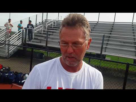 Upper St Clair coach Uwe Schneider after 2-1 OT win vs Plum in WPIAL playoff 10-21-17