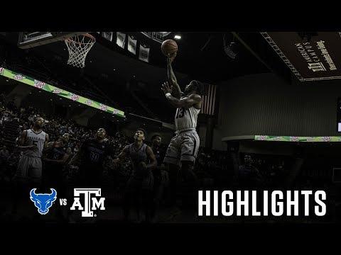Men's Basketball: Highlights   A&M 89, Buffalo 73