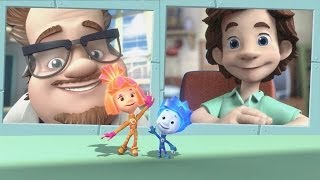 Фиксики - Видеосвязь | Образовательные мультики для детей