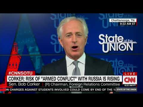 BOB CORKER FULL INTERVIEW ON STATE OF THE UNION WITH DANA BASH (4/22/2018)