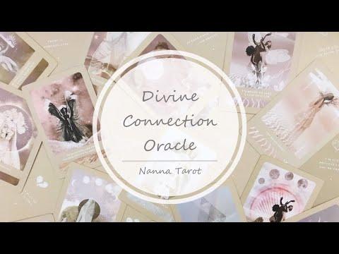 開箱  神聖連結神諭卡 • Divine Connection Oracle // Nanna Tarot