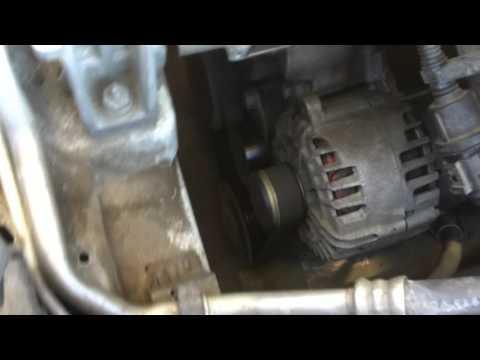 Шкода Октавия А7 1.6 шум подшипников компрессора кондиционера