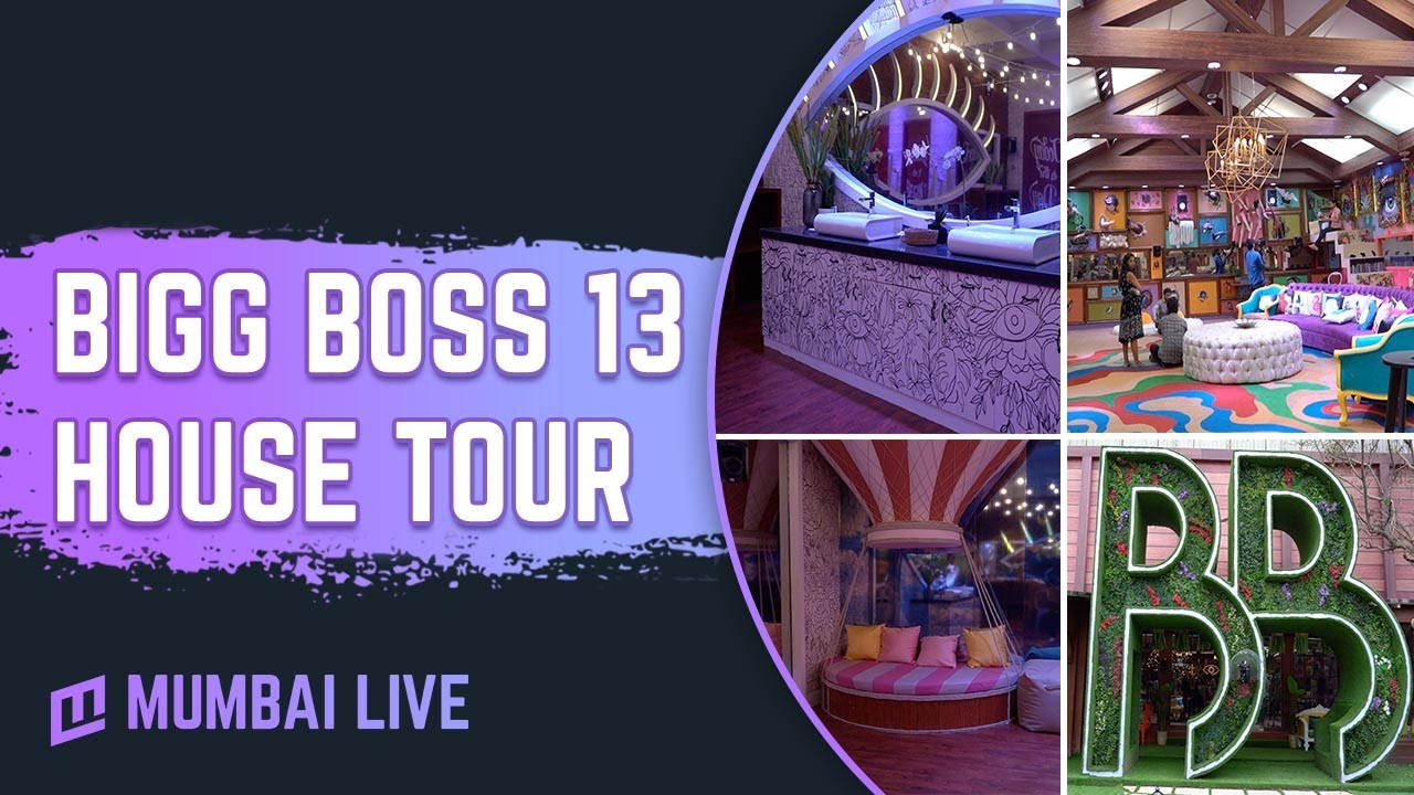 Bigg Boss 13 House Tour Exclusive Footage Colors Tv Mumbai Live
