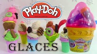 Pâte à modeler Glace Le Cornet de Glaces ♥ Play Doh Ice Cream Cone Container