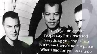 Fine Young Cannibals- She Drives me Crazy with lyrics