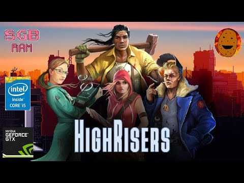Highrisers Gameplay  - Perfect game for low end PC |