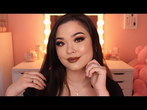 ASMR Doing My Makeup | Fall Makeup Tutorial 🍂🍁