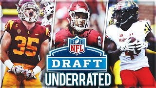 The 10 Most UNDERRATED Players In the 2019 NFL Draft