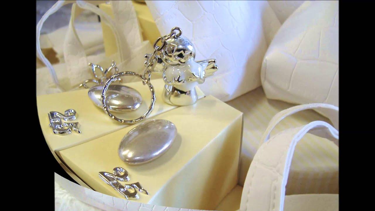 Exceptionnel bomboniere nozze d'argento 25° anniversario matrimonio  NB36