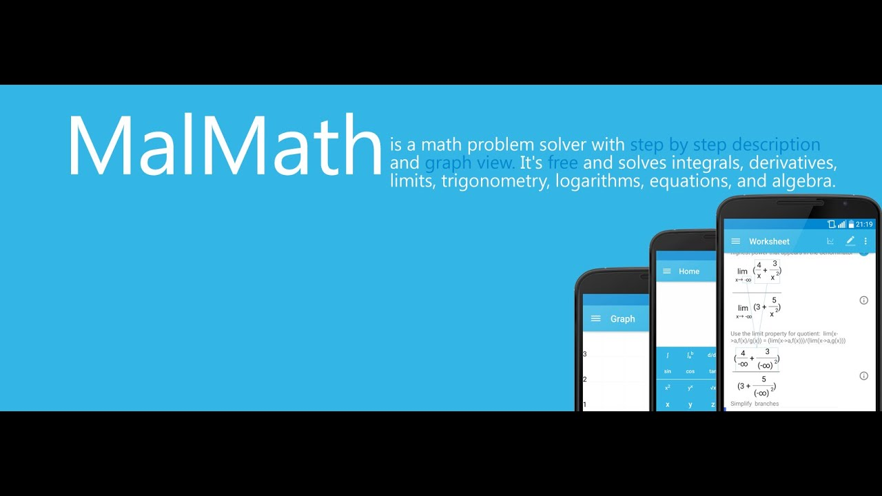 MalMath: Step by step math problem solver OVERVIEW - YouTube