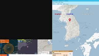[지진관측 진도0] 쿠시로 해역서 규모2.8 깊이40k…