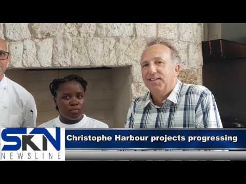 Work at Christophe Harbor progressing