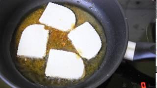 как жарить сыр  - жареный сыр