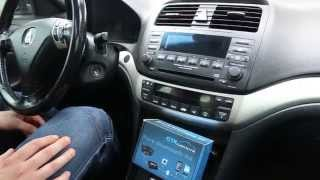 GTA Car Kits Acura TSX Install Of IPhone IPod And AUX - 2004 acura tl aux input