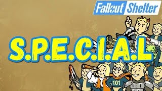 Fallout Shelter SPECIAL На Что Влияет ГАЙД [ #Fallout #Shelter ]