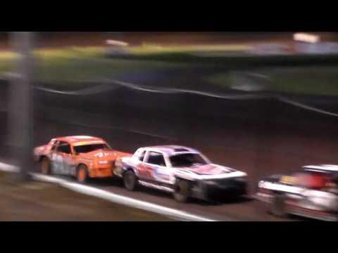 Stock Car Heat 2 @ Hancock County Speedway 06/30/17
