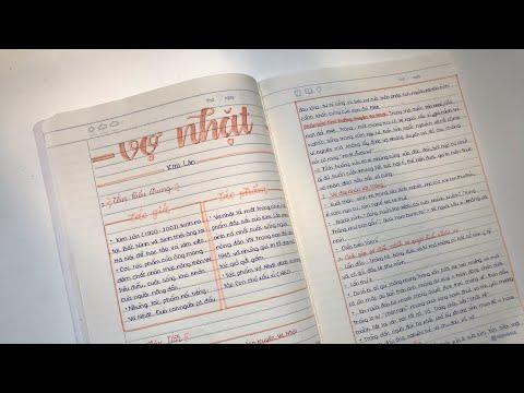 Takenotes - Takenotes Ngữ Văn bằng bút bi Thiên Long// using Thien Long's pen