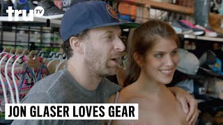 Jon Glaser Loves Gear -  Gearing Up for a Surf Lesson