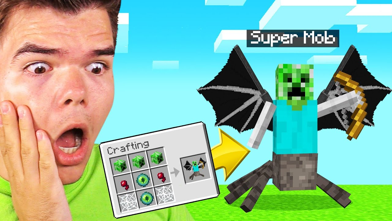 We CREATED NEW MOBS In MINECRAFT! (Scary)