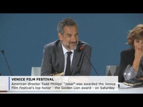"""Todd Phillips' """"Joker"""" wins Venice Film Festival's Golden Lion award"""