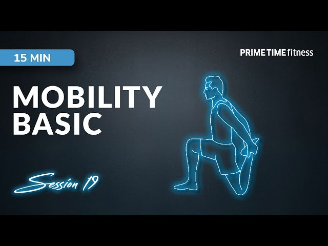Mobility basic live Workout Session - Vol.19
