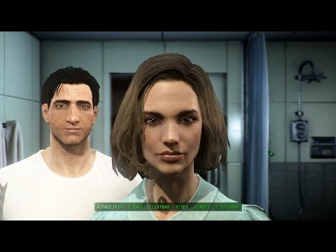 Fallout 4: How to make smokin' hot, sexy male and female