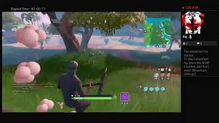 Streaming Fortnite. Lets Drop them BOTz Out Here.
