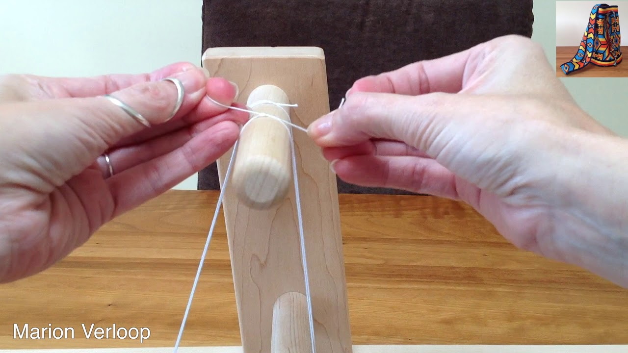 Making heddles for schacht inkle loom