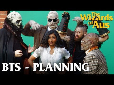The Wizards of Aus || Behind the Scenes: Pre-Production