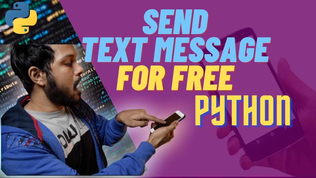 Send Message without Number for Free using Python | Python Project in 10 Minutes