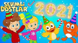 Yeni yıl geliyor 🎄 2021e Sevimli Dostlar bebek şarkıları ile girelim 🎈 Adisebaba çocuk şarkıları