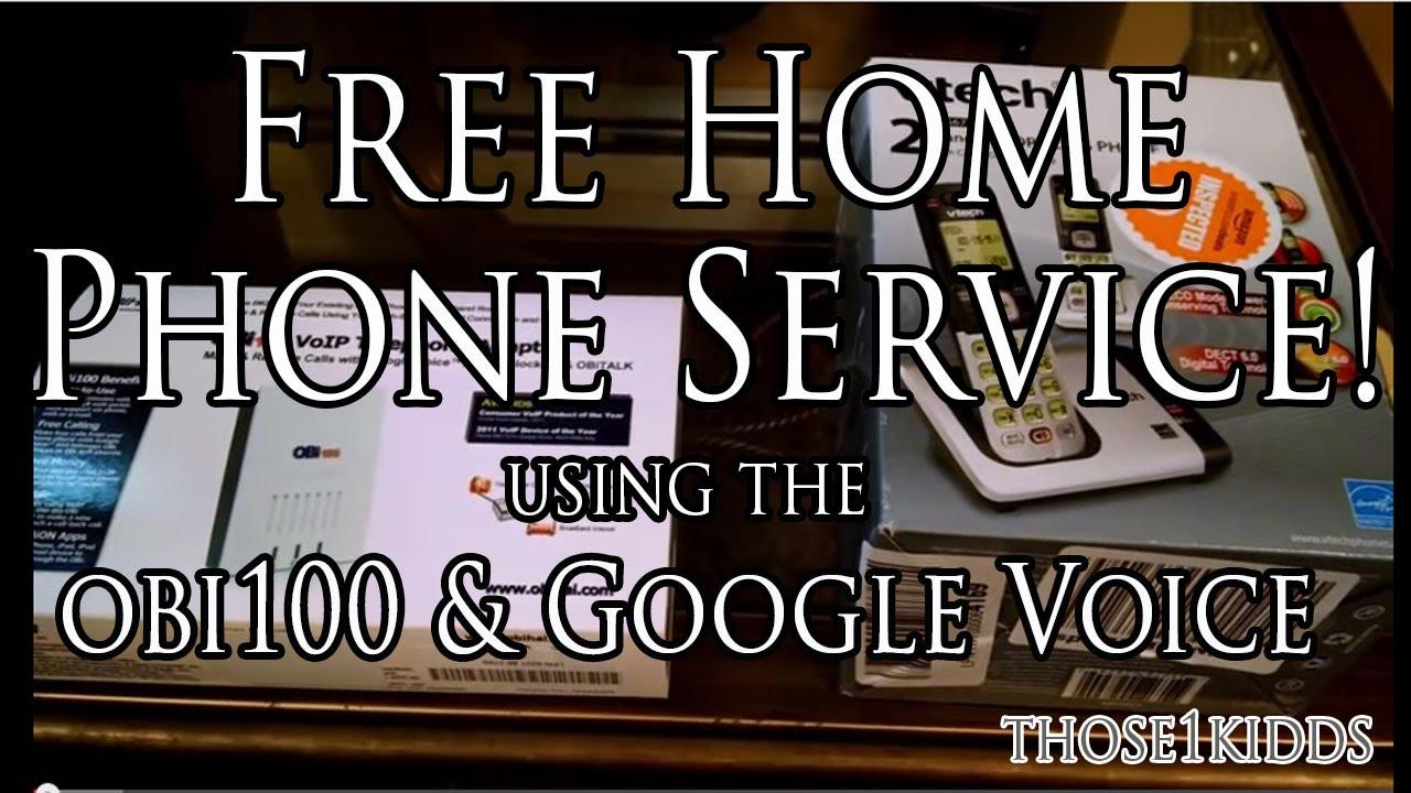 google voice home phone service