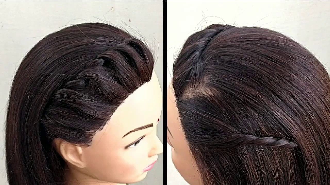 Very Easy Hairstyles For Open Hair For Everyday || Everyday Hairstyles For Open Hair - YouTube
