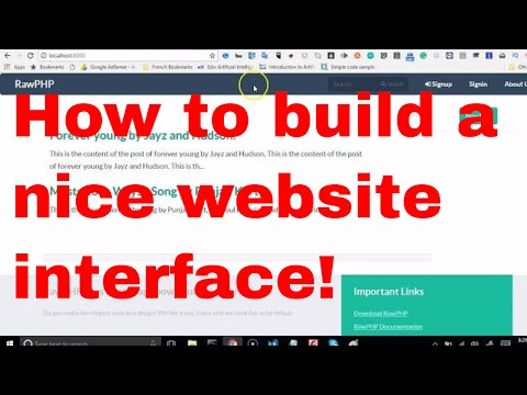 Web development tutorial - recruitment platform - 8 - how to customize the front end of your website