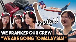 [Office Prank] Finally, Blimey goes to Malaysia!
