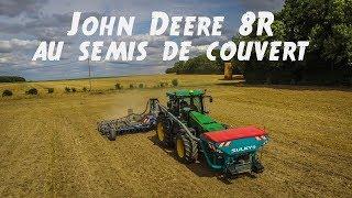 Video [DJI PHANTOM 3] JOHN DEERE 8R AT COVERING SOWING | LESAGRIS80 download MP3, 3GP, MP4, WEBM, AVI, FLV November 2017