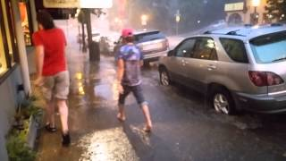 Caught in a Flash Flood - Ashland Oregon