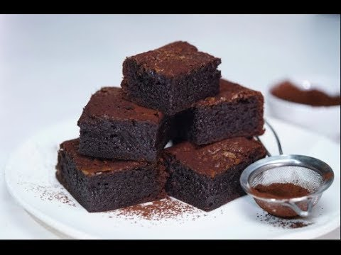 LOW FAT HOMEMADE BROWNIES (6sp for