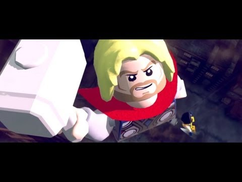 Lego Marvel Super Heroes Gamescom Trailer Youtube