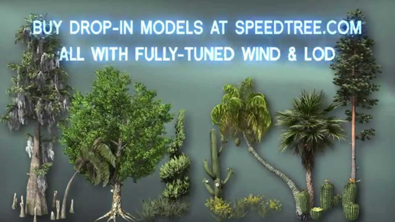 Introducing SpeedTree for UE4