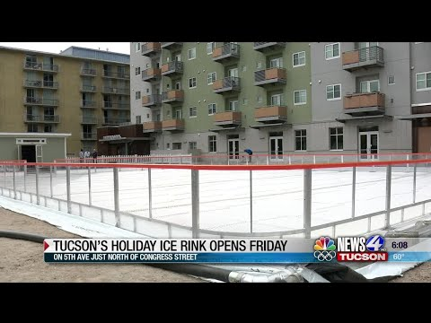 First Outdoor Ice Rink To Open In Downtown