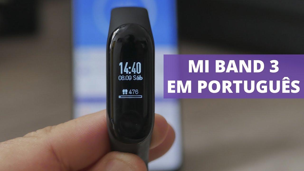 Como Colocar A Mi Band 3 Em Português Dicas E Soluções De Problemas Youtube