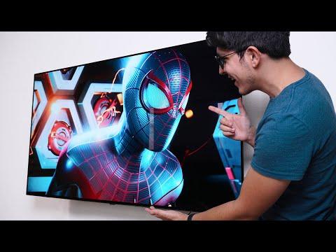 El mejor televisor para PS5 y Xbox Series X - LG OLED55BX