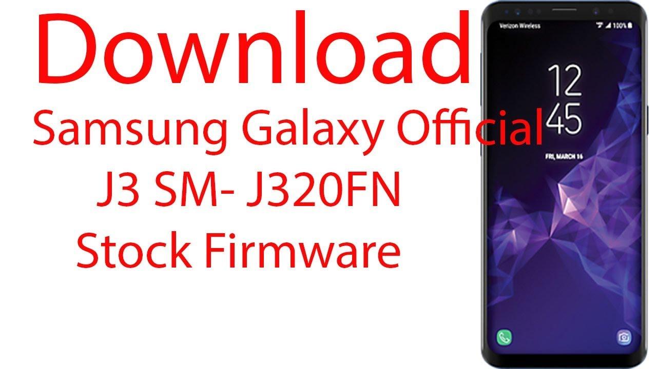 Samsung J3 Luna Pro Firmware Download