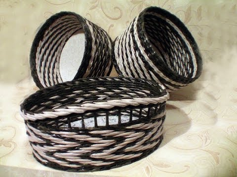 ▬► Плетение узора верёвочка с объемом