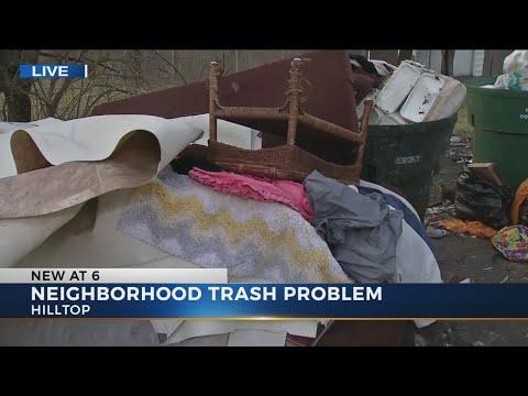 West Columbus neighborhood plagued by trash-filled alleys