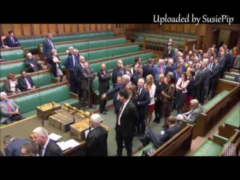 Dennis Skinner  14.06.2017 Getting Comfy on Labours front Bench!