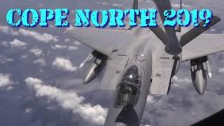Cope North 19: F-15 Eagles Refuel Over Vast Pacific